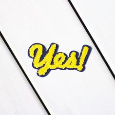 Yes it's Friyay! Add this positive patch to your collection! In the shop now - link in bio -