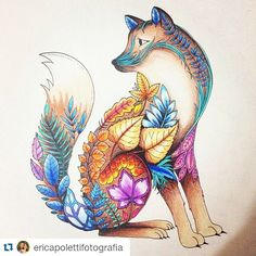 SQUIRREL Enchanted Forest /Johanna Basford - Google Search                                                                                                                                                     More