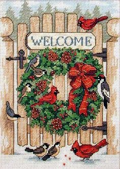DESIGNS TO CROSS STITCH