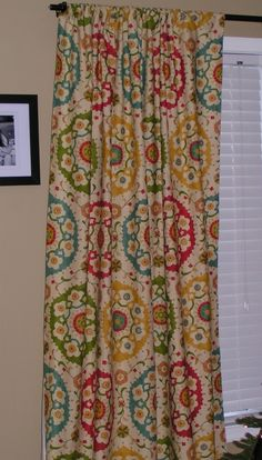 Custom Curtains  Ready to Ship  50x84 Rod Pocket by thefarley4, $110.00