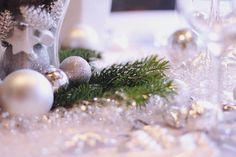 christmas table decoration {DIY}