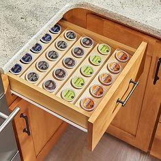 Rev-A-Shelf K-Cup Custom Drawer Coffee Pod Storage