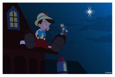 Disney Doodle: Pinocchio Wishes On A Star «  Disney Parks Blog