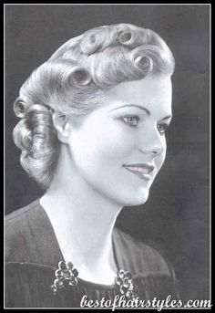 Sensational 1000 Images About Fashion Amp Beauty On Pinterest 1930S Short Hairstyles Gunalazisus