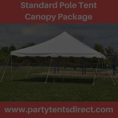 Selling Commercial Grade Party Tents Banquet Tables and Chairs and more. & 20x40 White Used Commercial Pole Tent Canopy -TentandTable.net ...