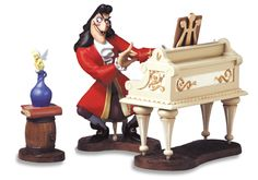 pictures of pianos with mustagches | Peter Pan-Captain Hook & Tinker Bell (2003 Villains Series-Members ...