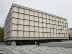 Modern Beinecke Library, Yale University, Gordon Bunshaft, 1963 - Photo by Barry Winiker/Photolibrary Collection/Getty Images (cropped)