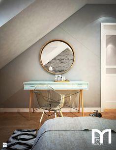 Sypialnia styl Skandynawski - zdjęcie od Mart-Design Architektura Wnętrz - Sypialnia - Styl Skandynawski - Mart-Design Architektura Wnętrz