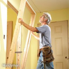A veteran carpenter shares his secrets about how to hang a door plumb and true even if the rough opening isn't perfect. Even a novice can master his techniques with a little practice.