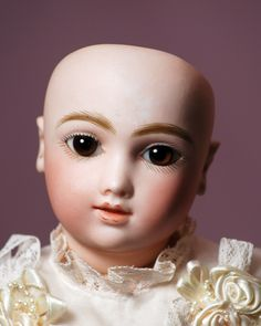 """RARE, ANTIQUE FRENCH BISQUE """"A. T."""" BEBE BY ANDRE THULLIER in Dolls & Bears, Dolls, Antique (Pre-1930), Bisque, French 