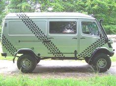 MB 309 4x4 Mercedes Sprinter 4x4, Mercedes Benz Vans, Mercedes Truck, 4x4 Camper Van, Truck Camper, Camper Trailers, Off Road Camping, Van Camping, Cool Vans