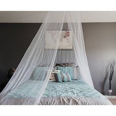 Mosquito Bed Net Free Stuff Sack Double Bed Conical Screen Insect Repellent Camping Curtain Fly Screen Netting Mosquitero Zika Malaria Mission Trip Dorm Room Home Travel *** For more information, visit image link. Mosquito Net Bed, Camping Canopy, Bed Net, Camping With A Baby, Canopy Curtains, Double Curtains, Insect Repellent, Double Beds, Dorm Room