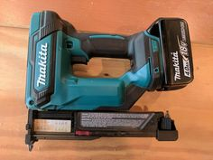 Today we're taking a look at Makita's fantastic new 18v Li-Ion Cordless Pin Nailer. If you're a carpenter who installs a lot of flooring trim, builds furniture, or otherwise finds himself dragging a compressor and hoses around for small trim jobs, this cordless pin nailer (along with the comparable cordless finish nailer) will change your workday for the better. Stuff Lawyers Made Us Say: We're partnering with The Home Depot to provide candid reviews of tools from a wide variety of ... Home Buying Process, Buying A New Home, Makita Power Tools, Finish Nailer, Floor Trim, Home Technology, Mountain Homes, Selling Your House, Wood Working For Beginners