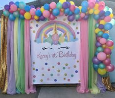 60x84 inches This listing is for a customized Unicorn Birthday Inspiration. Digital design for a Backdrop and invitation, no physical items will be delivered.