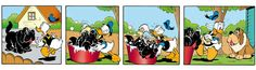 Donald duck strip