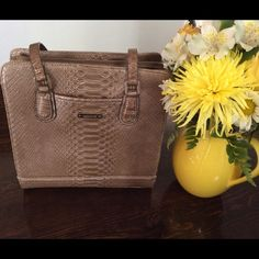 "Selling this ""Liz Claiborne Bronze Colored Purse"" in my Poshmark closet! My username is: nyreecox. #shopmycloset #poshmark #fashion #shopping #style #forsale #Liz Claiborne #Handbags"