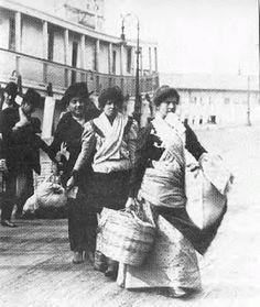 Irish female immigrants