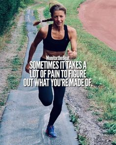 Image may contain: 1 person, standing, text and outdoor marathon motivation, running Sport Motivation, Motivation Positive, Fitness Motivation Quotes, Marathon Motivation, Bodybuilding Motivation Quotes, Running Workouts, Running Tips, Running Track, Sport Fitness
