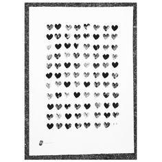 Poster You. Estampado manual de tinta china sobre cartulina de acuarela Canson de 250 g/m2. Medidas: 50 cm x 70 cm. Artista: The Catman.