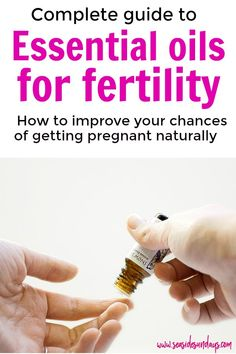 Essential oils for fertility. What essential oils are best for hormone imbalances and PCOS to help you get pregnant faster when you are trying to conceive. Get pregnant fast and improve your health with EOs - anything ranging from ovarian cysts, PCOS, fib Chances Of Getting Pregnant, Get Pregnant Fast, Pregnant Mom, Help Getting Pregnant, Pcos, Endometriosis, Essential Oils For Fertility, Trying To Conceive, Ovarian Cyst