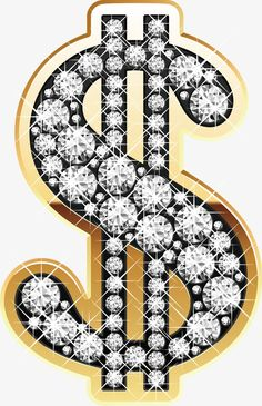 Diamond symbol money background, Dazzling Diamonds, Money Symbol, Luxurious Design PNG and Vector