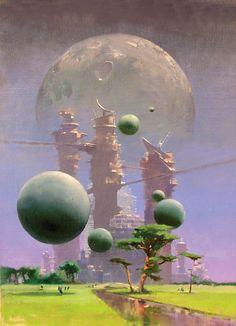 John Harris http://flavorwire.com/459711/the-striking-sci-fi-art-of-john-harris-imagines-a-new-world