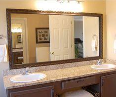 Bathroom Mirrors Essex essex crosshatch silver quick easy custom mirror frame   home
