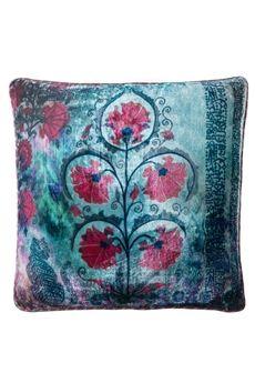 """Goodearth - Bokhara Butah Silk Velvet Cushion 20"""" x 20"""""""