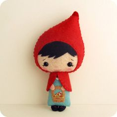 Little Red Riding Hood pdf Pattern by Gingermelon on Etsy,