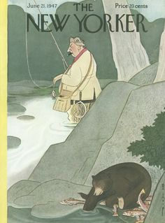 The New Yorker - Saturday, June 21, 1947 - Issue # 1166 - Vol. 23 - N° 18 - Cover by : Rea Irvin