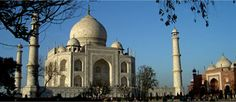 Taj Mahal of Agra - Symbol of Love..