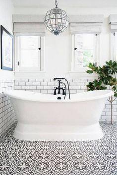 50 Best Farmhouse Bathroom Tile Design Ideas And Decor. If you are looking for 50 Best Farmhouse Bathroom Tile Design Ideas And Decor, You come to the right place. Serene Bathroom, Beautiful Bathrooms, Dream Bathrooms, Bathroom Colors, Bathroom Designs, Colorful Bathroom, Luxury Bathrooms, Small Bathrooms, Better Bathrooms