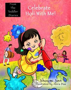 Celebrate Holi with Me Book Review