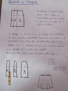Cartamodelliamoci Sewing For Beginners, Sewing Patterns, Personalized Items, Learning, Tutorial, Homemade, Skirts, Inspiration, Dresses