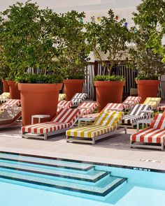 Book your Day Pass to the SLS Brickell with ResortPass! Experience style, luxury, and glamour at Downtown hottest pool scene- the Altitude . Pool Deck Furniture, Outdoor Furniture Sets, Florida Hotels, Beach Hotels, Pool Lounge Chairs, Downtown Miami, Eclectic Design, Luxury Spa, Relax