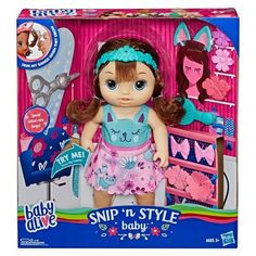 Cabbage Patch Kids Snuggle Time Newborn Baby Doll Officially Licensed NIB//Sealed
