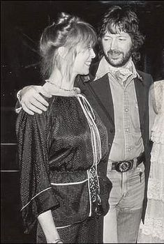 Pattie Boyd  was married to George Harrison of the Beatles. Eric Clapton  of the Yardbirds, the Bluesbreakers, Cream, Blind Faith, and Dere...