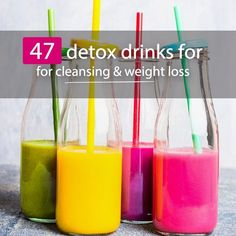 Try out these detox drinks for a healthy, bloat-free body!