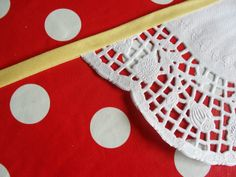 How to Make Paper Doily Bunting (No Sew)