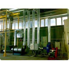 Dry Sawdust - Pipe Dryer