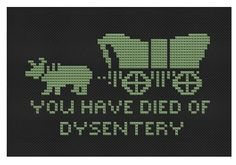 don't need the pattern since I can't cross-stitch but I'd love a hoop of this. Too funny!! (link is to purchase pattern)