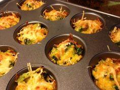 gluten free broccoli cheddar rice cups