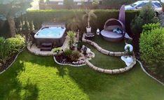 Great idea for the garden - balcony garden 100 - Garten - Balcony Furniture Design Modern Garden Design, Backyard Garden Design, Balcony Garden, Backyard Patio, Backyard Landscaping, Garden Great Ideas, Garden Inspiration, Amazing Gardens, Beautiful Gardens