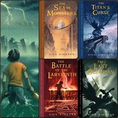 Favorite Book Series. (Any Percy Jackson Book Really! —This includes the companion series.)