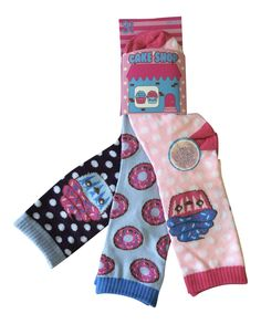 6 Pairs Childrens/Kids Cotton Rich Novelty Cup Cake Shop Fun Socks: Amazon.co.uk: Clothing