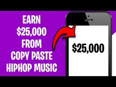 Earn $25,000 PER MONTH From Copy & Paste Hip Hop Music (Make Money Online For Free) - YouTube