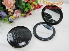 5 piece lot Round butterfly Anna sui compact dual mirror great for diy Anna Sui, Compact Mirror, Mirrors, Craft Supplies, Butterfly, Projects, Diy, Crafts, Log Projects