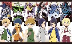 Anime picture 1680x1050 with digimon xros wars digimon savers digimon frontier digimon adventure 02 digimon tamers digimon ...