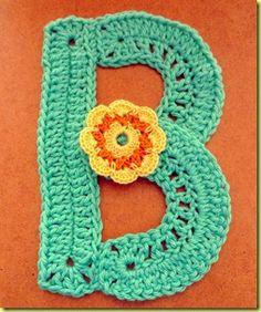 letters haken - crocheting letters