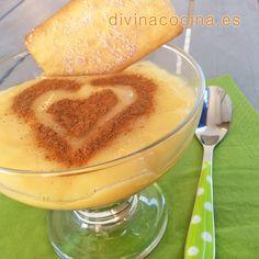 Crema inglesa con galletas » Divina CocinaRecetas fáciles, cocina andaluza y del mundo. » Divina Cocina